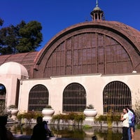 Photo taken at Botanical Building & Lily Pond by Josiah G. on 1/28/2012