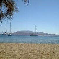 Photo taken at Tsigouri Beach by Petros K. on 7/2/2012