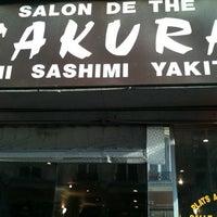 Photo taken at Sakura by Paula G. on 12/21/2010
