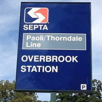 Photo taken at SEPTA Overbrook Station by Paul B. on 9/11/2012