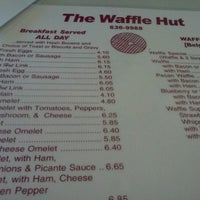 Photo taken at Waffle Hut by Marco G. on 3/17/2012