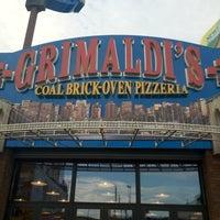 Photo taken at Grimaldi's Coal Brick-Oven Pizza by Jon-Erik J. on 8/25/2012