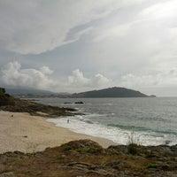 Photo taken at Praia de Fortiñón by opaco on 8/12/2012