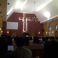 Photo taken at Gereja Bukit Sion by Ati P. on 8/18/2012