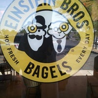 Photo taken at Einstein Bros Bagels by Rick T. on 5/23/2011