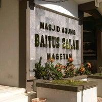 Photo taken at Masjid Agung Baitussalam by Arif S. on 2/24/2012
