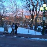 Photo taken at Santa Fe Plaza by Paul H. on 12/24/2011
