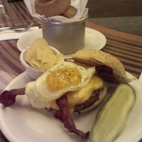 Photo taken at Bobby's Burger Palace by Derrick P. on 11/21/2011