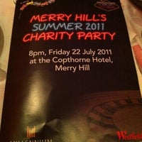 Photo taken at Copthorne Hotel Merry Hill-Dudley by Lucas R. on 7/22/2011