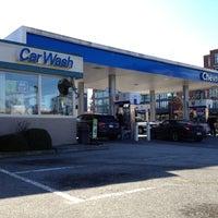 Photo taken at Chevron by Sean S. on 3/6/2012