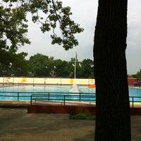 Photo taken at Highbridge Park Pool by Coleman B. on 8/3/2012