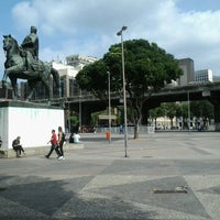Photo taken at Praça XV de Novembro by Ilan R. on 7/30/2012