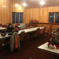 Photo taken at Mountain Warming Hut by Jer on 2/22/2012
