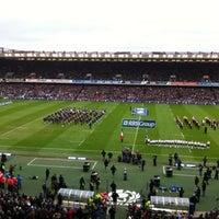 Foto tirada no(a) Murrayfield Stadium por ike R. em 2/26/2012