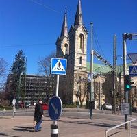 Photo taken at Kaarli kirik by Ahti L. on 4/26/2011
