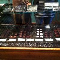 Photo taken at Dark Side Chocolates by Dieter G. on 12/10/2011