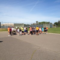 Photo taken at Osseo High School by Tom S. on 9/8/2012