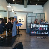 Photo taken at The Hive Salon by Jill B. on 7/15/2012