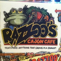 Photo taken at Razzoo's Cajun Cafe by Patrick D. on 8/22/2011
