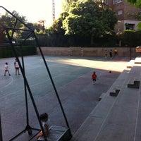 Photo taken at Campo de futbito de Tirma by Roberto P. on 7/19/2011