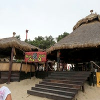 Photo taken at Beach Bar Mexo by Jacco G. on 8/10/2012