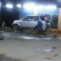 Photo taken at Mutiara Car Wash by Apih J. on 2/6/2012