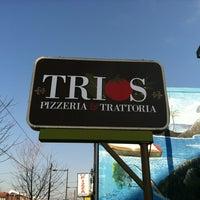 Photo taken at Trios fresh italian by Andrew J. on 2/19/2011