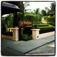 Photo taken at Mukdara Beach Villa And Spa Resort by noppawan s. on 3/19/2012