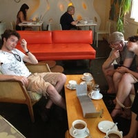 Photo taken at The Orange Couch by Steve B. on 5/23/2012