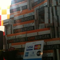 Photo taken at One Burger by Caixeiro V. on 7/3/2012