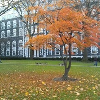 Photo taken at Fordham University - Rose Hill by Chris F. on 12/1/2011