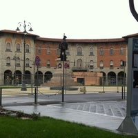 Photo taken at Piazza Vittorio Emanuele II by Guillermo V. on 1/13/2012