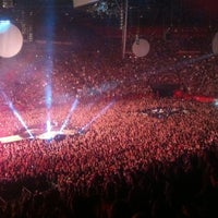 Photo taken at AccorHotels Arena by Dmitriy L. on 12/14/2011