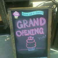 Photo taken at Gigi's Cupcakes by cassi c. on 10/7/2011