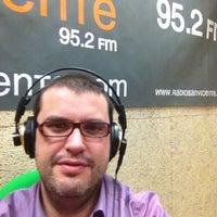 Photo taken at Radio San Vicente 95.2 FM by Oscar L. on 1/23/2012
