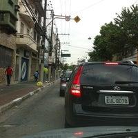 Photo taken at Rua da Mooca by Henrique F. on 11/28/2011