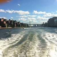 Photo taken at New York Water Taxi Randall's Island by Carmen K. on 6/24/2012