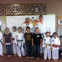 Photo taken at Master Rousseau's Taekwondo, England Airpark by Carol R. on 3/10/2012