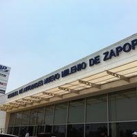 Foto tomada en Terminal de Autobuses Nuevo Milenio de Zapopan por Lic. Felipe E. el 5/18/2012