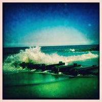 Photo taken at Long Branch Beach by Ilovetapatio on 4/19/2012