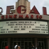 Photo taken at Regal Cinemas Willoughby Commons 16 by Jessica K. on 7/14/2012