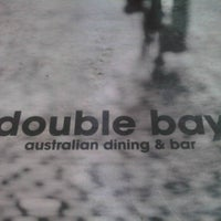Photo taken at Double Bay Australian Dining & Bar by Jane on 10/15/2011