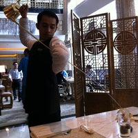 Photo taken at TABLE8 - Hotel Mulia Senayan, Jakarta by Muay K. on 1/28/2011