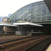 Photo taken at Berlin Ostbahnhof by Karsten S. on 9/8/2011
