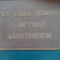 12/25/2011 tarihinde Karen S.ziyaretçi tarafından New York County Lawyer's Association'de çekilen fotoğraf
