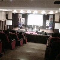 Photo taken at Auditorium of Ciputra University by Bang W. on 5/9/2012