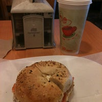Photo taken at Towson Hot Bagels by Cheryl Y. on 3/27/2012