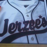 Photo taken at Jerzee's Sports Grille by April B. on 7/9/2012