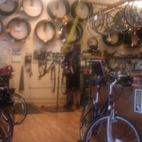Photo taken at Missing Link Bicycle Cooperative by Regina W. on 9/8/2012