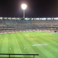 Photo taken at Melbourne Cricket Ground (MCG) by Dave L. on 6/3/2012